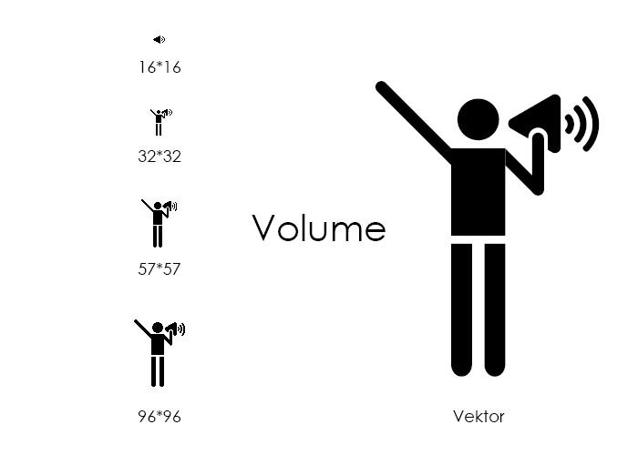 Icons Volume