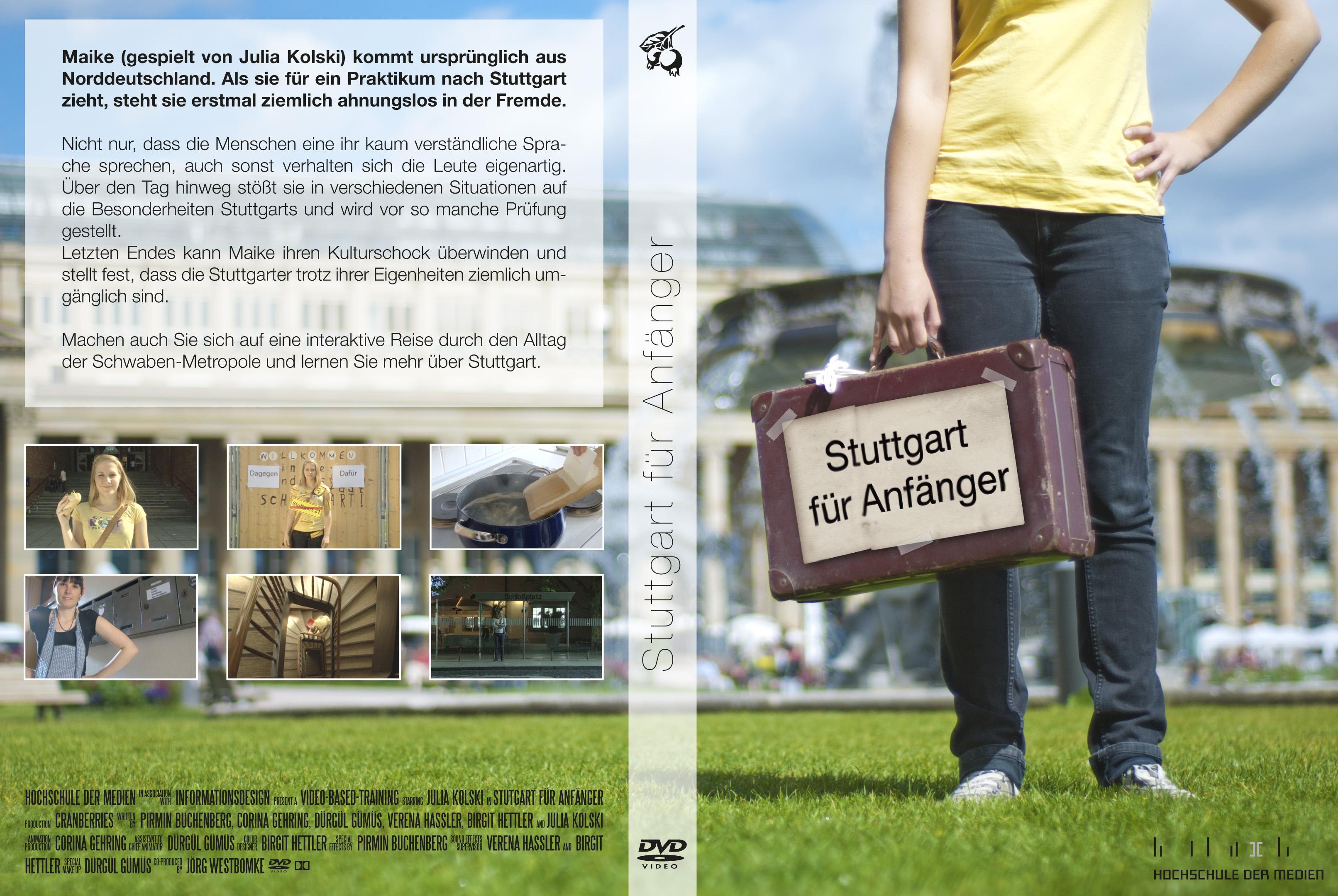 Stuttgart für Anfänger - DVD Inlay